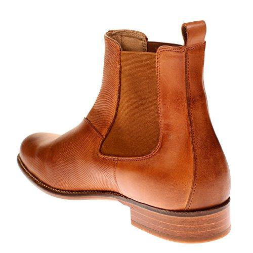 TEN POINTS Damen Linn Chelsea Boots Braun (Cognac)
