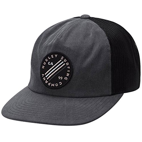 Hurley Sail Bait Sport Everyday Casual Sun Protection Hat, Black (011), One Size (Embroidered Hurley Hat)
