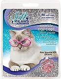 Feline Soft Claw Nail Caps - Medium - Pink Sparkle