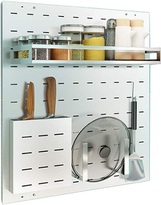 AINIYF Estante para ollas de la cocina, estante para colgar en la ...