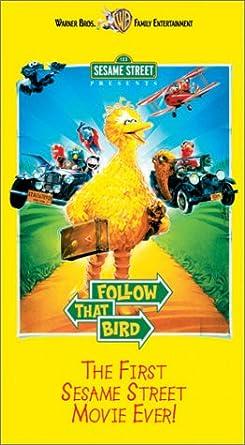 Amazoncom Sesame Street Presents Follow That Bird Vhs Caroll