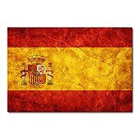 Placa Decorativa - Bandeira Espanha - 0306plmk