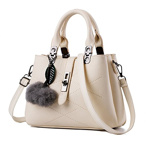 ANDAY - Bolso mochila  para mujer Negro negro talla única beige