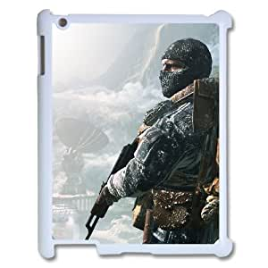 C-EUR Cover Case Call Of Duty customized Hard Plastic case For IPad 2,3,4