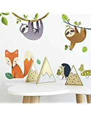 RoomMates Forest Friends Peel And Stick Wall Decals