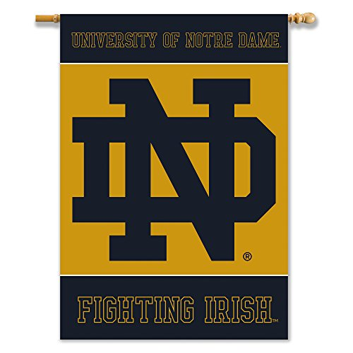 NCAA Notre Dame Fighting Irish NCAA 2-Sided 28-by-40