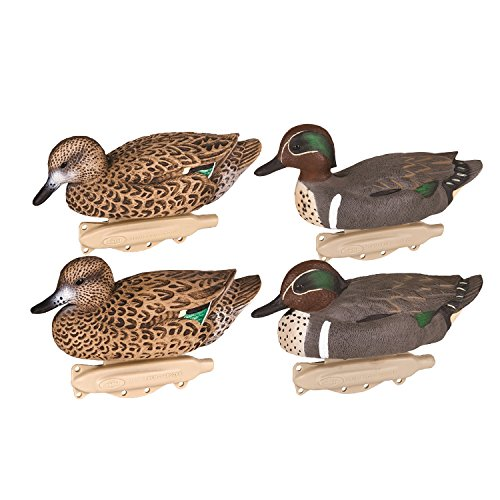 Green Winged Duck Teal - Flambeau Classic Wing Teal, Green