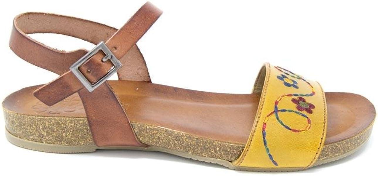3e3c34a03a4 Sandalia Porronet Alexa Mostaza - 36  Amazon.es  Zapatos y complementos