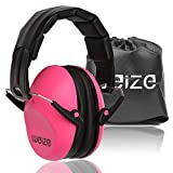 Weize Safety Earmuffs Tactical Sport Hearing Protector Folding-Padded Ear Protection for Shooting Range Worksite Gun Range Hunting Drilling (Certified S3.19 & EN352)