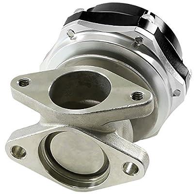 38mm Bolt-on 7/13/20 PSI External Turbo Exhaust Manifold Wastegate (Black): Automotive