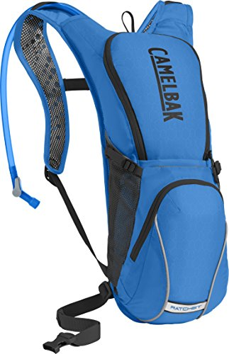 - CamelBak Ratchet Crux Reservoir Hydration Pack, Carve Blue/Black, 3 L/100 oz
