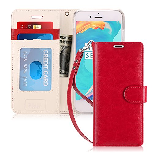 - FYY Case for iPhone 6S Plus/iPhone 6 Plus, [Kickstand Feature] Flip Folio Leather Wallet Case with ID&Credit Card Pockets for Apple iPhone 6/6S Plus (5.5