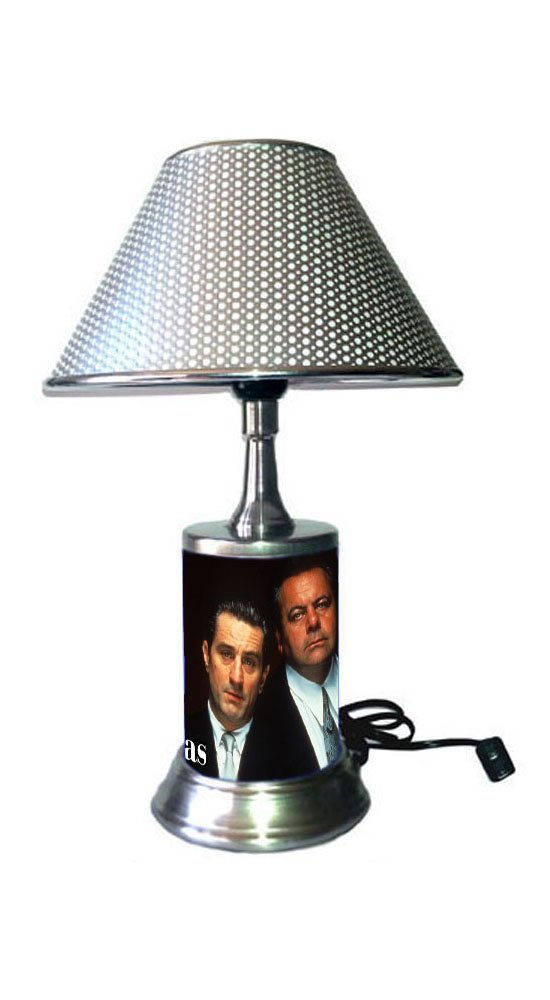 JS Goodfellas Lamp with chrome shade, movie