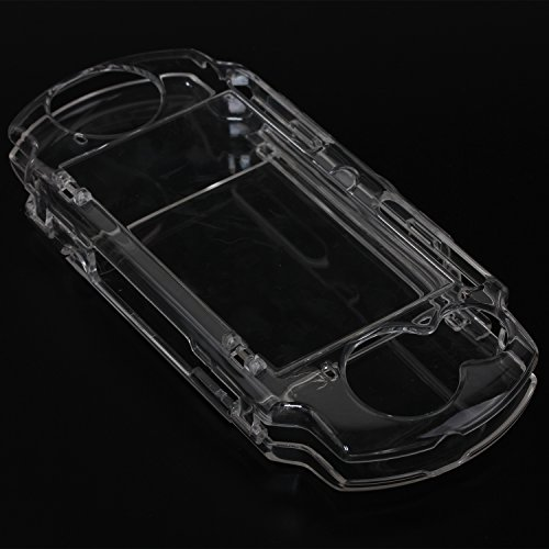 eJiasu Crystal Protective Hard Cover Box Case Transparent Shell for Sony PSP2000, PSP3000 (1PC Transparent) (Protective Crystal Psp Cover)