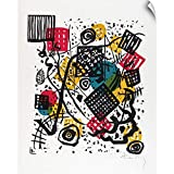Wall Peel entitled Kleine Welten V Small Worlds V. Kandinsky made the Small Worlds Kleine Welten portfolio while teaching at the Bauhaus the influential German art school founded after World War I. For Kandinsky abstraction was a spiritual language. ...