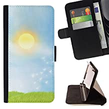 For Samsung Galaxy Note 4 IV,S-type Prairie - Drawing PU Leather Wallet Style Pouch Protective Skin Case