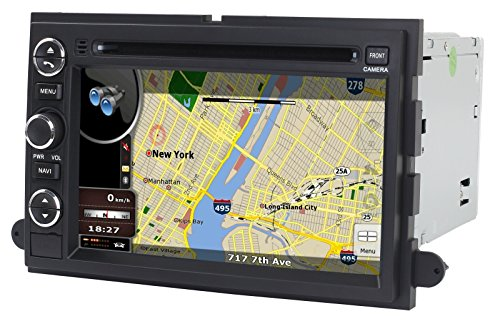 Astrium Gsj   Ford F  In Dash Gps Navigation Dvd Stereo Bluetooth  E  B Touch Screen Av Receiver Audio Video Player Fm Am Radio Ipod