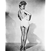 """Betty Grable, 1942, WWII Pinup Girl by Hollywood Historic Photos 11""""x14"""" Art Print Poster"""
