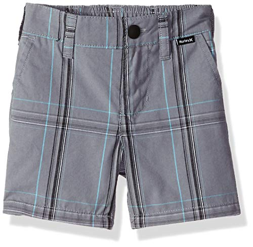 (Hurley Baby Boys Walk Shorts, Cool Gray)
