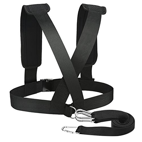 PELLOR Resistance Training Equipment Shoulder Strap Weight Bearing Resistance - Training Belt Resistance
