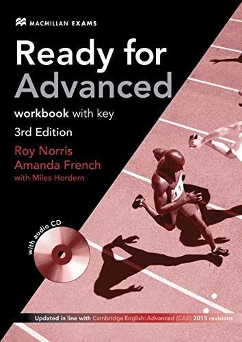Ready for Advanced: 3rd Edition – 2014 / Workbook with Audio-CD and Key