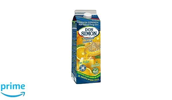 Don Simon Zumo de Naranja Exprimida con Pulpa - Pack de 6 botellas x 2 l - Total: 12 l: Amazon.es: Amazon Pantry