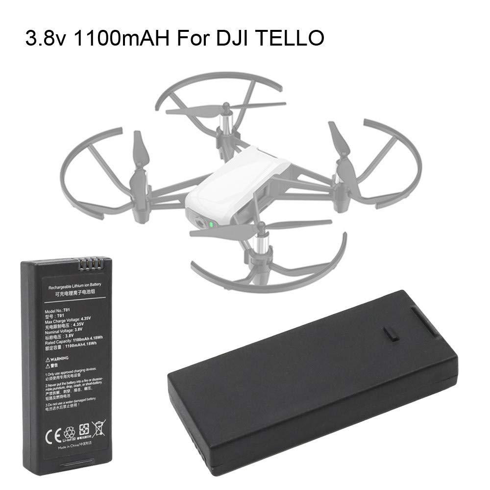 TwoCC Para Dji Tello Quadcopter Drone Batería de vuelo inteligente ...