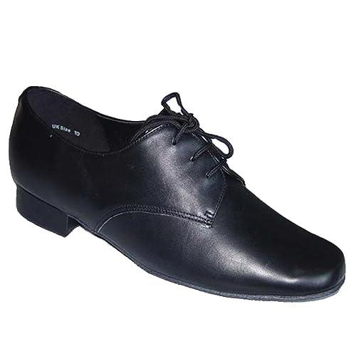 Danza moderna scarpe  scarpe inferiori molli Danza latino scarpe nere   Amazon.it  Scarpe e borse e8e8cb5407e