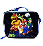 1 X Super Mario Brothers and Friends Soft Insulated School Lunch Box