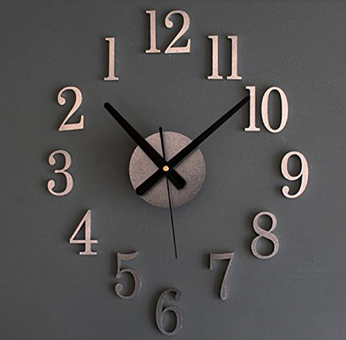 fashion-home-back-in-time-true-3d-stereo-diy-metallic-wall-clock-for-my-warm-home-orologio-da-parete