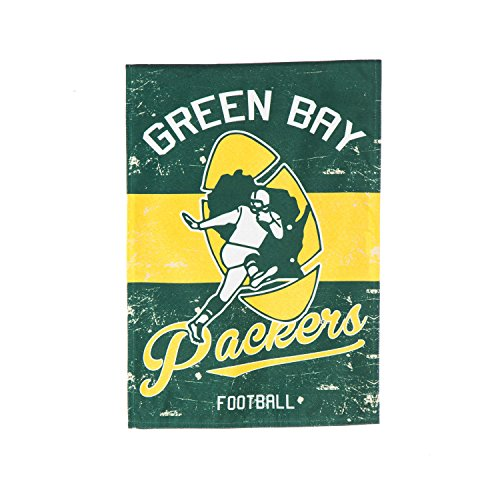 Green Bay Packers Garden (Team Sports America 14L3811VINT Green Bay Packers Vintage Linen)