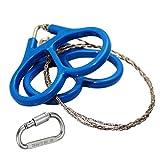 USUNO Mini Stainless Steel Pocket Wire Saw - Emergency...