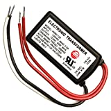 60 Watt - Step Down Transformer - 120 Volt to 12 Volt - For Use with 12 Volt Incandescent Rope Light - FlexTec BSET60