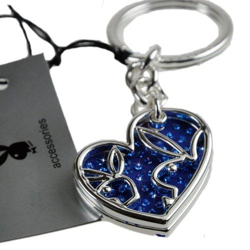 Playboy-Llavero 2 teilig azules en forma de corazón, de ...
