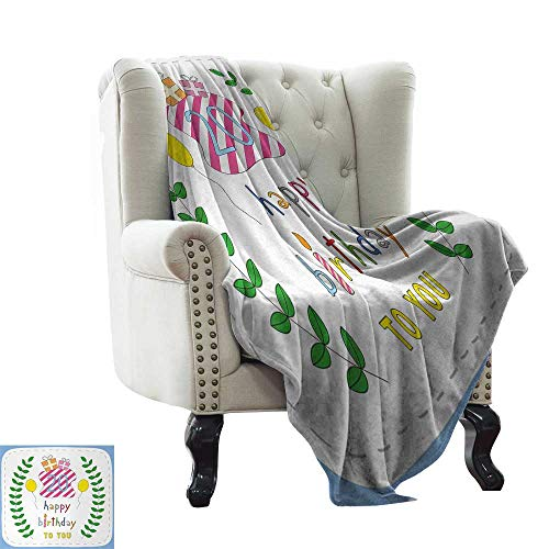 LsWOW Sofa Blanket 20th Birthday,Sweet Twenty Surprise for sale  Delivered anywhere in Canada