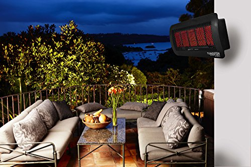 Bromic Heating Tungsten 500 Smart-Heat Gas 5 Burner Radiant Infrared Patio Heater, Propane, 43000 BTU by Bromic Heating (Image #9)