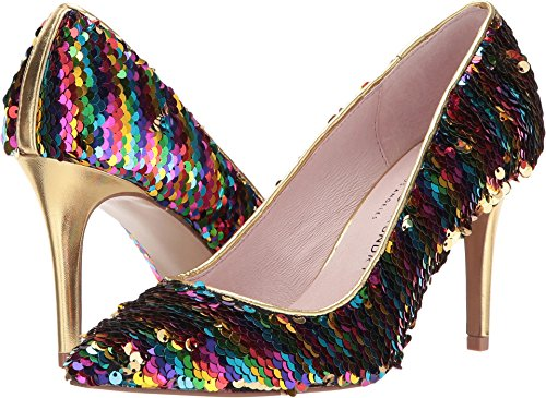 Chinese Laundry Women's Ruthy Dress Pump, Rainbow Sequins, 8.5 M US