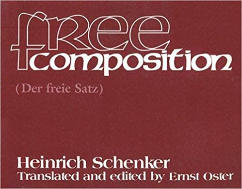 Free composition heinrich schenker ernst oster 9781576470749 free composition supplement edition fandeluxe Images