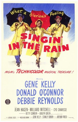(Pop Culture Graphics Singin' in The Rain (1952) - 11 x 17 - Style D)