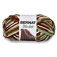 Bernat Blanket Big Ball Yarn (10301), Plum Fields