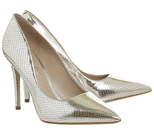 Office Point Court Homie Snake Silver Heels wAF0qw