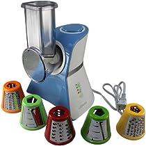 Salad Maker Mini Food Processor and Produce Shooter - Blue