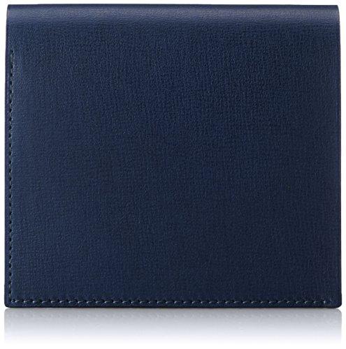 MAISON de HIROAN Leather Bifold Wallet Made in Japan 21537 Navy by MAISON de HIROAN