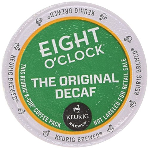 Eight O'Clock Original Decaf Coffee Keurig K-Cups, 18 Count by Eight O'Clock Coffee