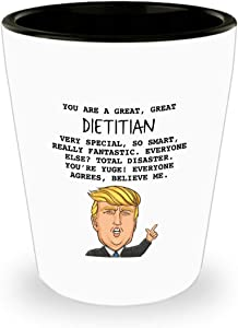 REGISTERED DIETITIAN GIFTS - FUNNY DECORATIONS - OFFICE DECOR