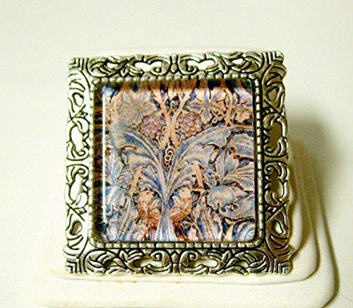 Tree of life tapestry convertible brooch/pendant - AP35-153 - 153 Pendant