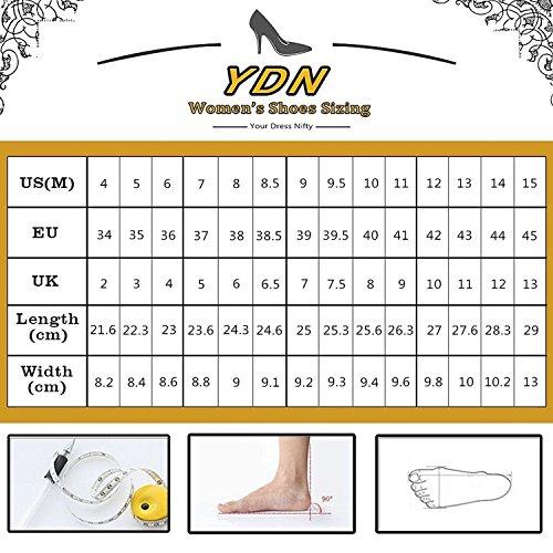 Les Femmes Ydn Bloc Bout Ouvert Sandales Talons Bas Glissent Sur Les Bretelles Pompes Chaussures Mules Occasionnels Violet