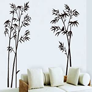 Wall sticker decal decoration bamboo vinyl for Amazon wall mural