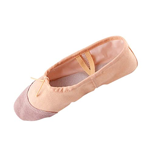 011d31accff75 Yudesun Scarpe per Bambine e Ragazze Ballerine - Balletto Piatto Tela Danza  Ginnastica Yoga Ciabatte Bambini