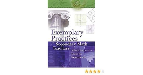 Exemplary Practices for Secondary Math Teachers
